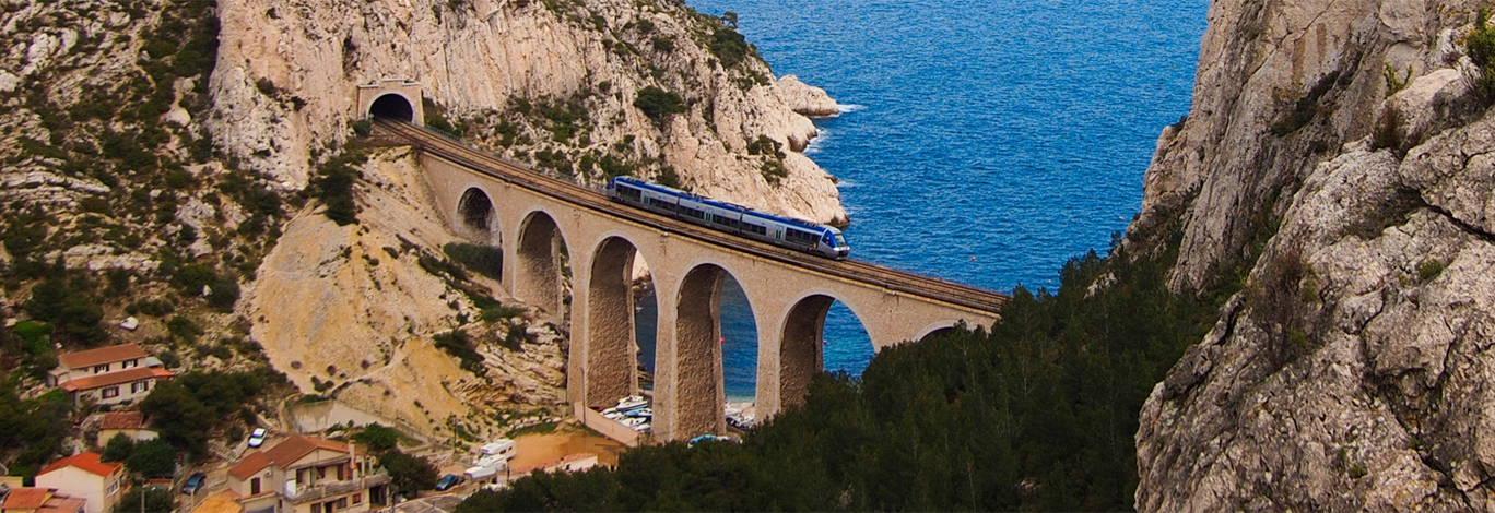 Great coastal train trips