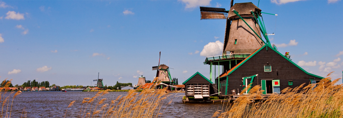 Six day trips from Amsterdam by train