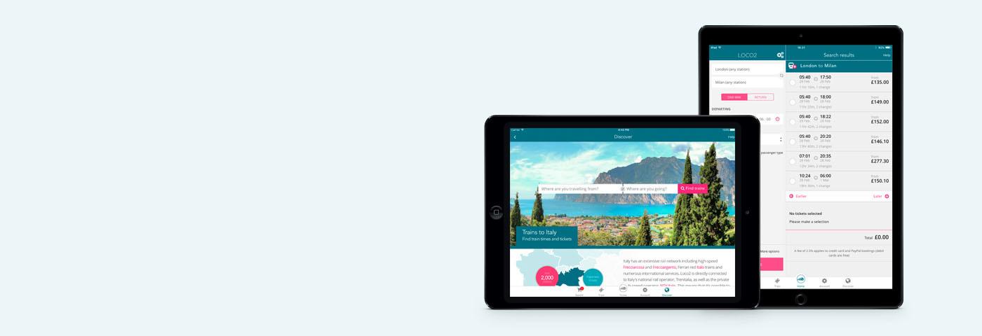 Loco2 has arrived on the iPad!