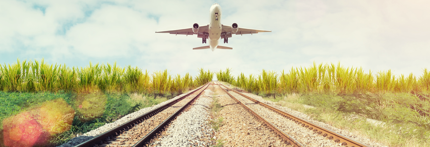 Airport train stations - from runways to railways