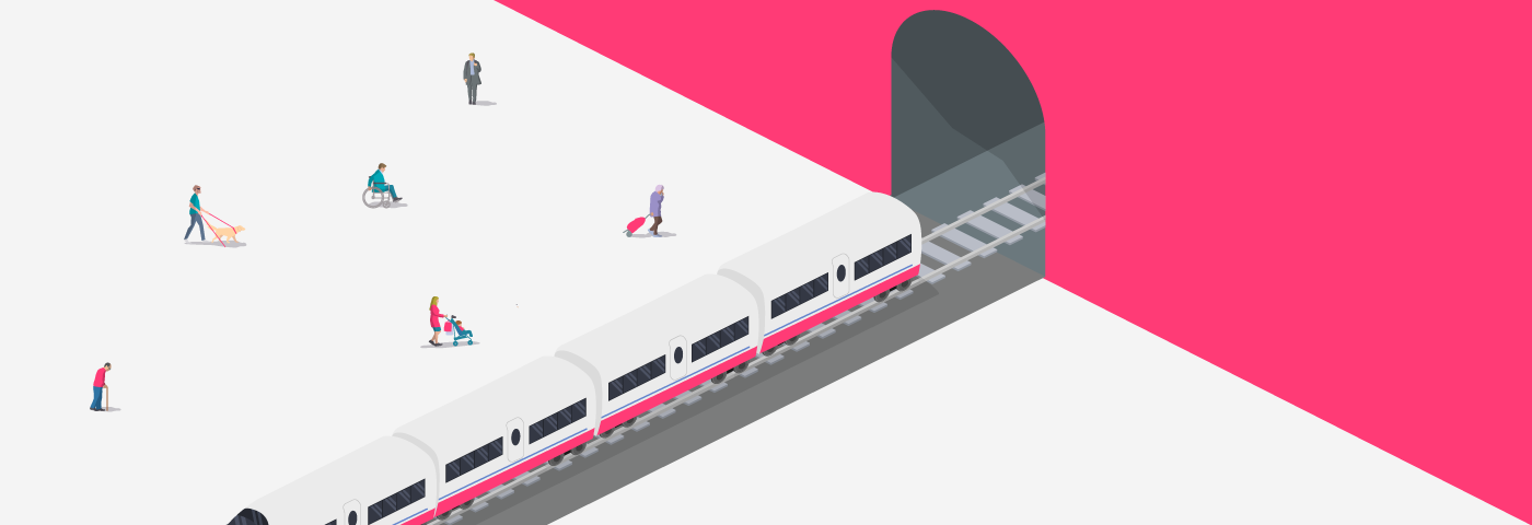 Accessible rail travel in France, Germany and the Netherlands