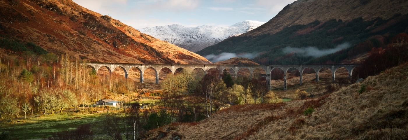 Discover the most scenic train routes in Scotland