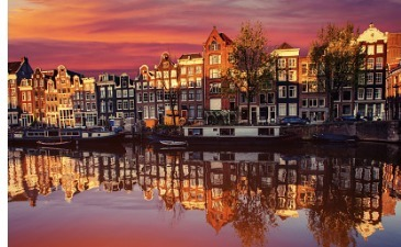 London to Amsterdam with Eurostar