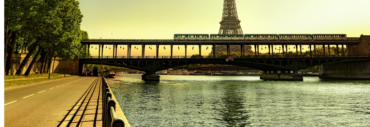 Where can I travel to from Paris by train?