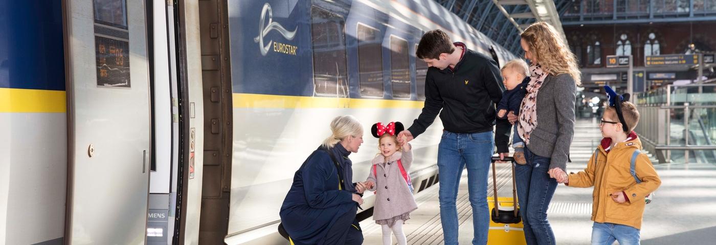 London to Disneyland® Paris trains