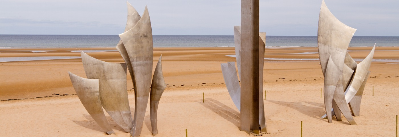 Visiting Normandy's D-Day beaches by train
