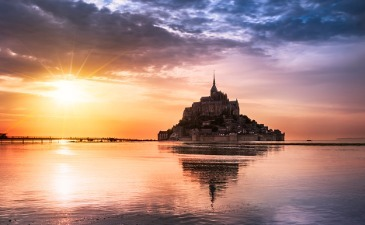 Mont St. Michel by train from Paris