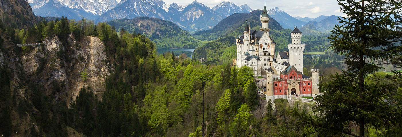 Visiting Neuschwanstein Castle by train