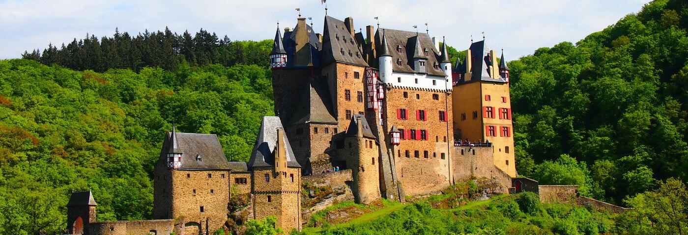 Eltz Castle by train