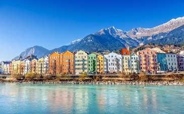Combine city breaks with nature when visiting Austria by train