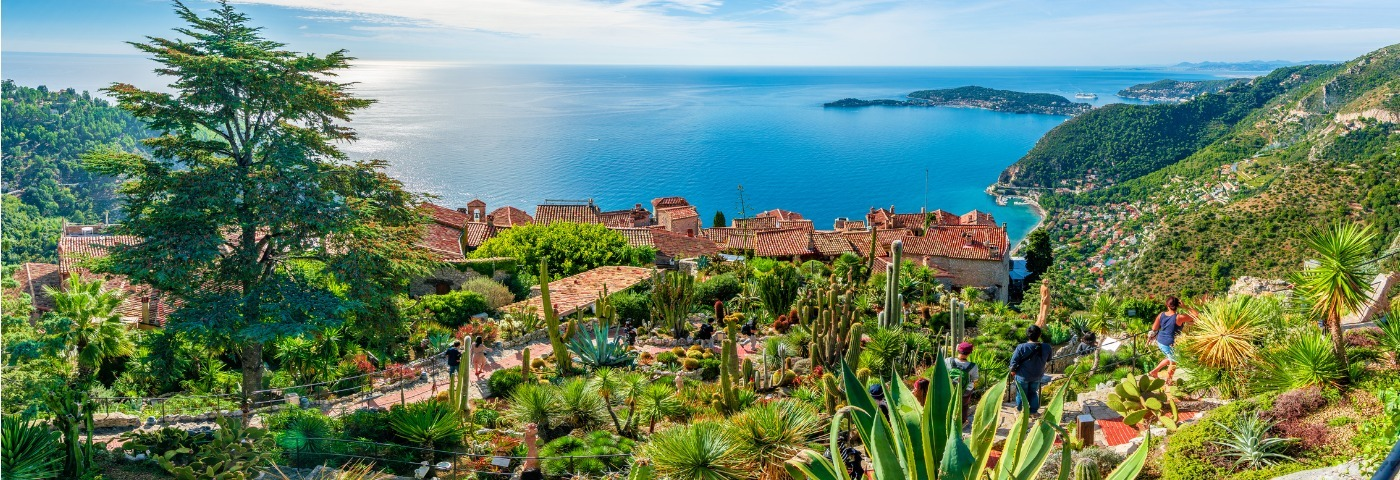 Visit the French Riviera by train