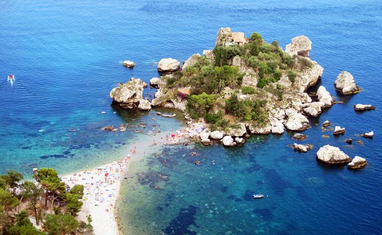 Scenic train Sicily