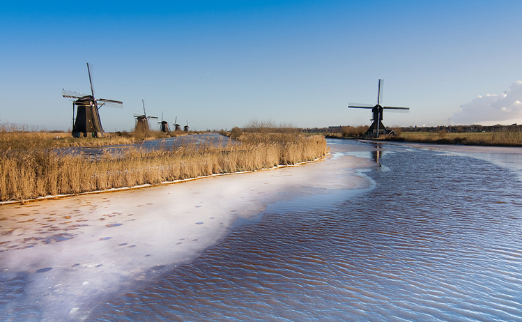 Day trips from amsterdam by train - Kinderdijk