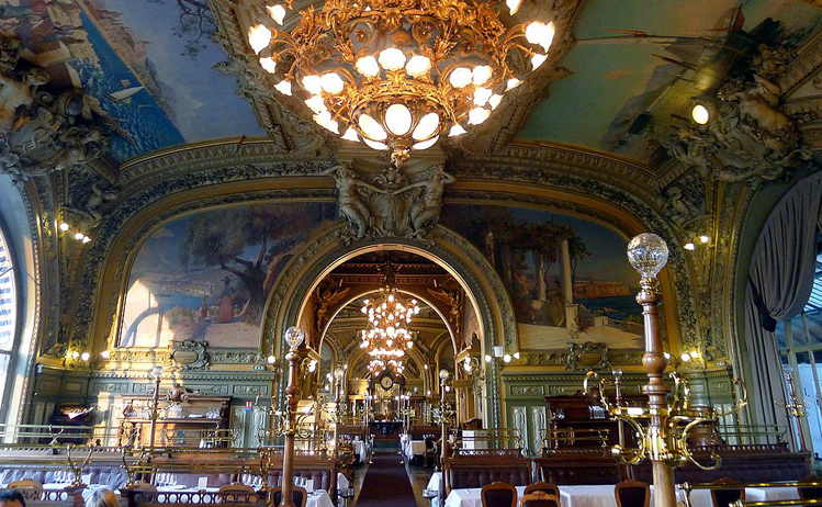 best train station restaurants - Le Train Bleu