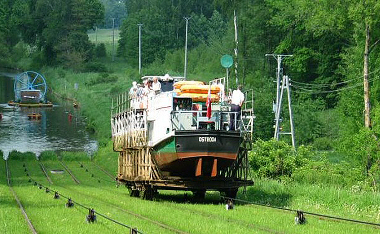 Amazing railway engineering - Elblag canal