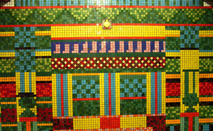 Mosaic Tottenham Court Road