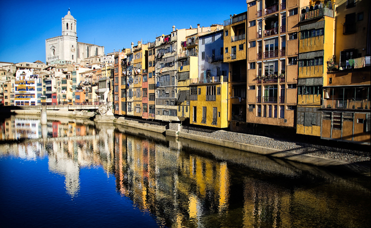 European City breaks by rail from London - Girona
