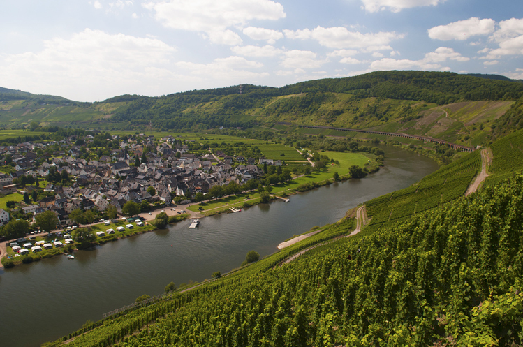 Great train journeys in autumn - Moselle Valley