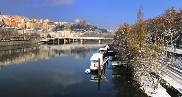 Winter city break in Lyon