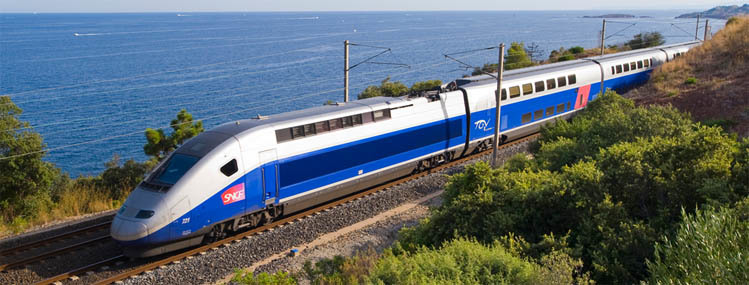 high-speed train from Paris to Barcelona