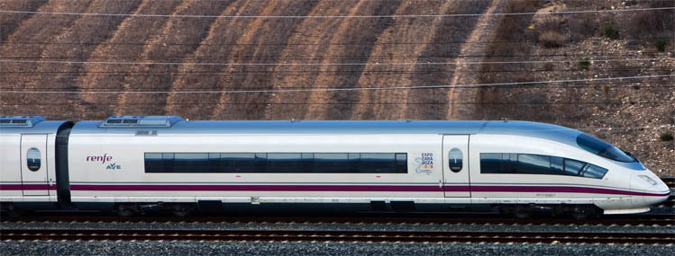 Renfe AVE to Spain