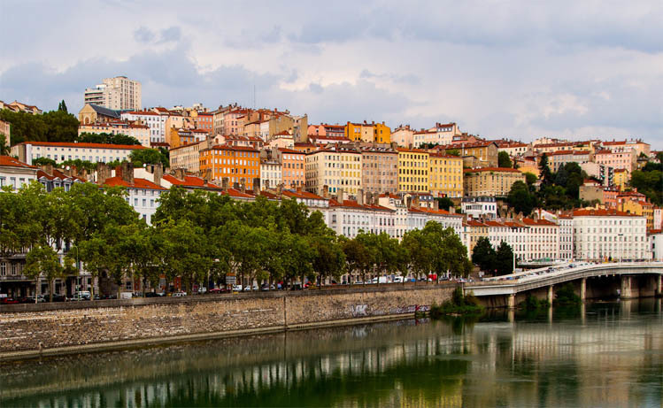 European City breaks by rail from London - Lyon