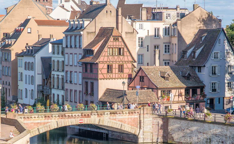 European City breaks by rail from London - Strasbourg