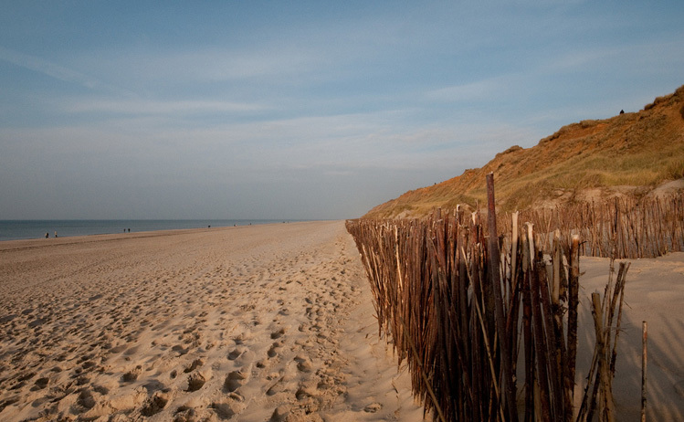 Beach by train - Sylt, Germany