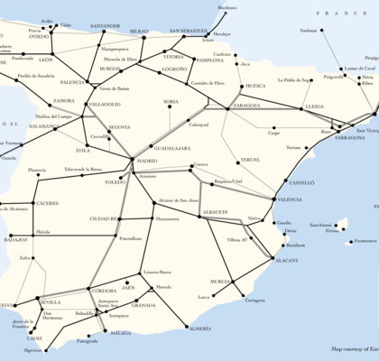 Country rail map images default