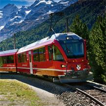 St Moritz to Tirano